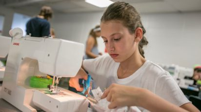 poly summer camp machine sewing