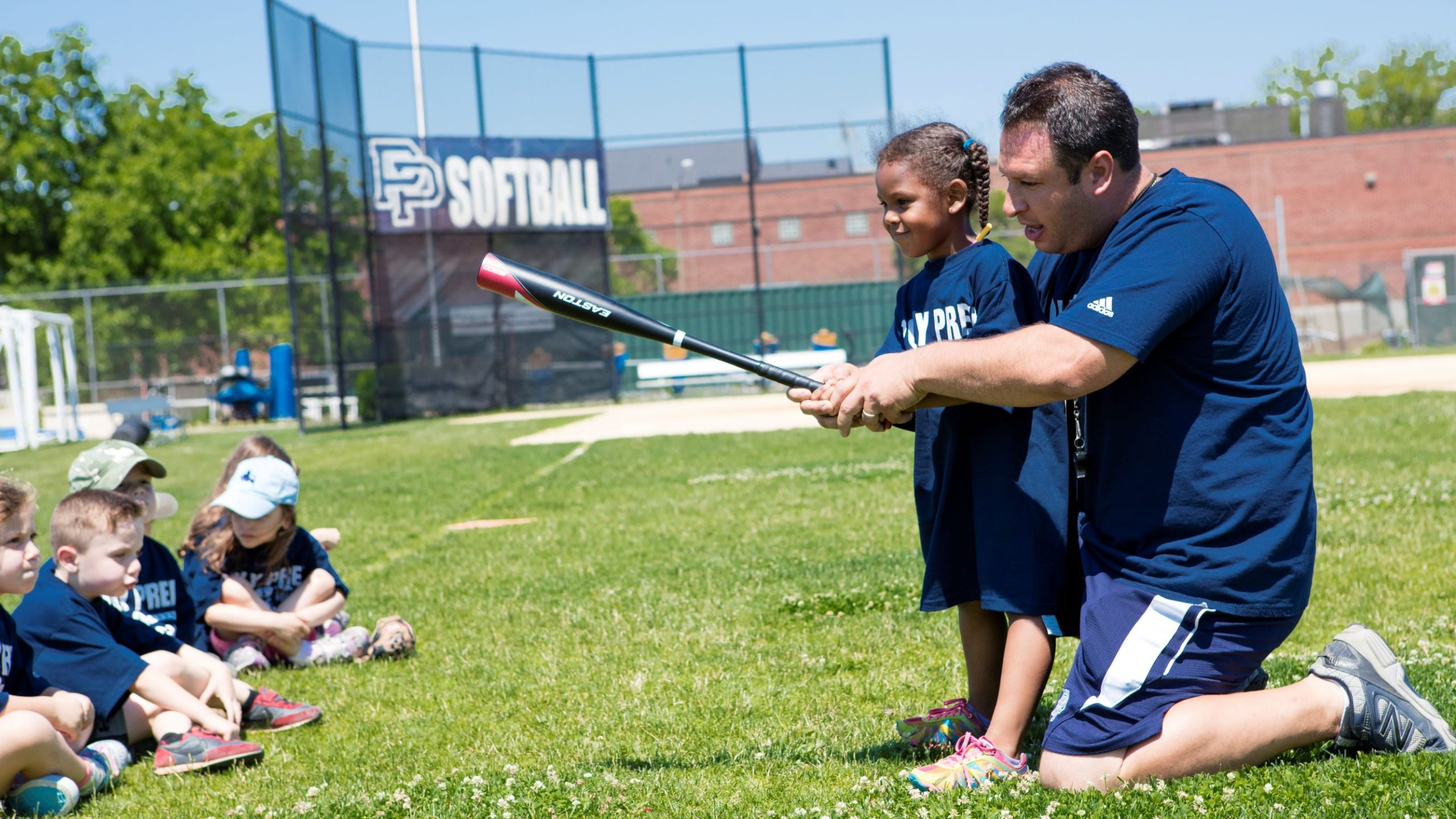 poly summer campers multi rookie sport field