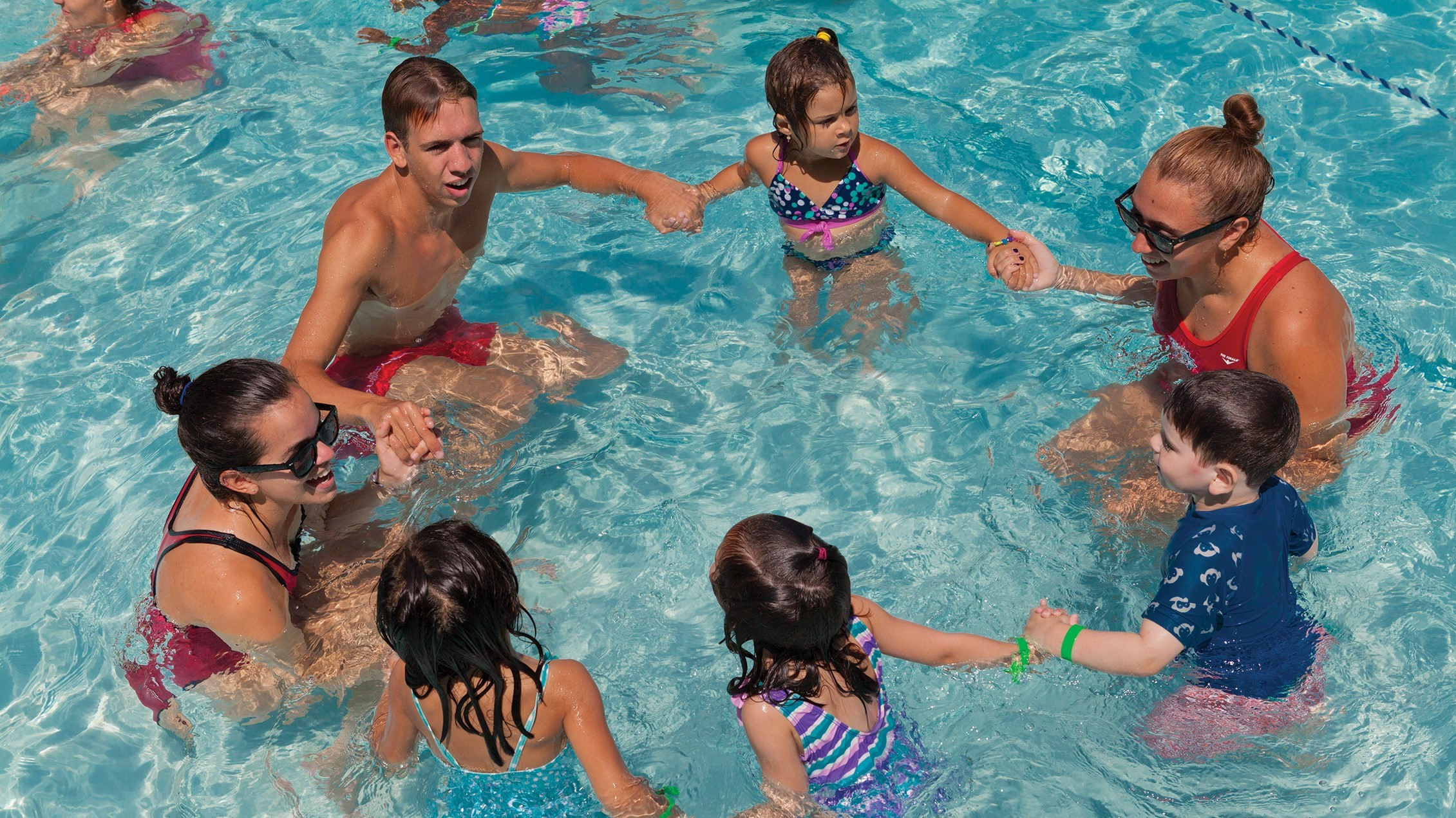 poly summer camp swim instruction