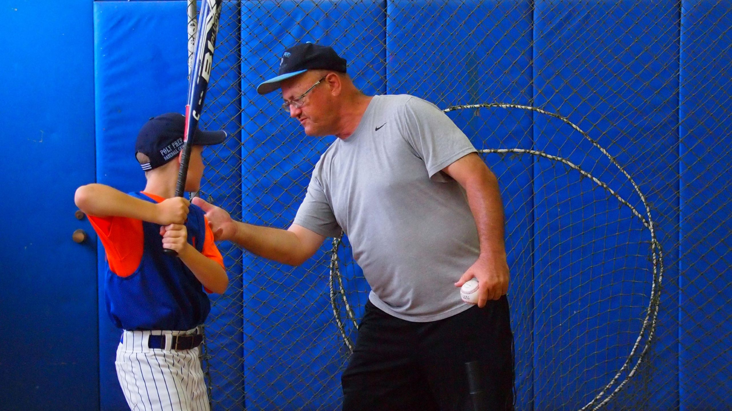 poly summer camp baseball program