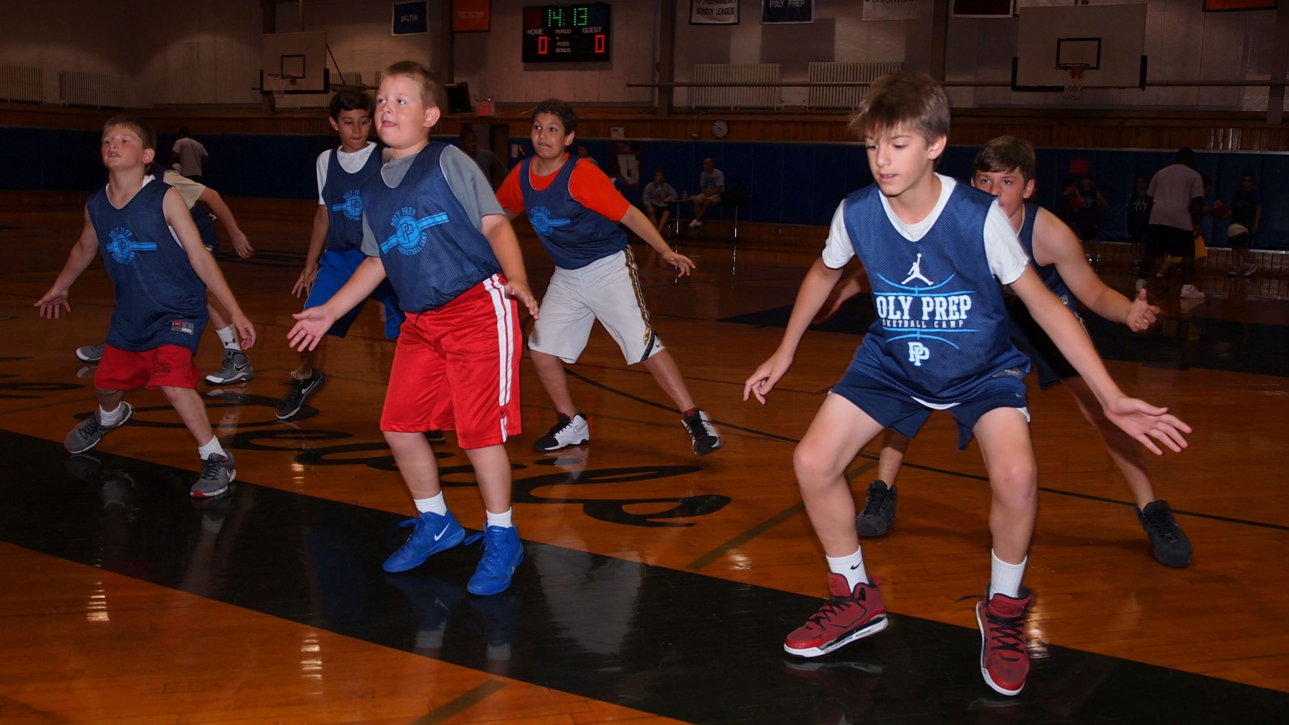 poly summer camp basketball program