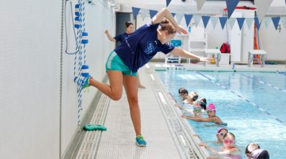 poly summer camp competitive swim