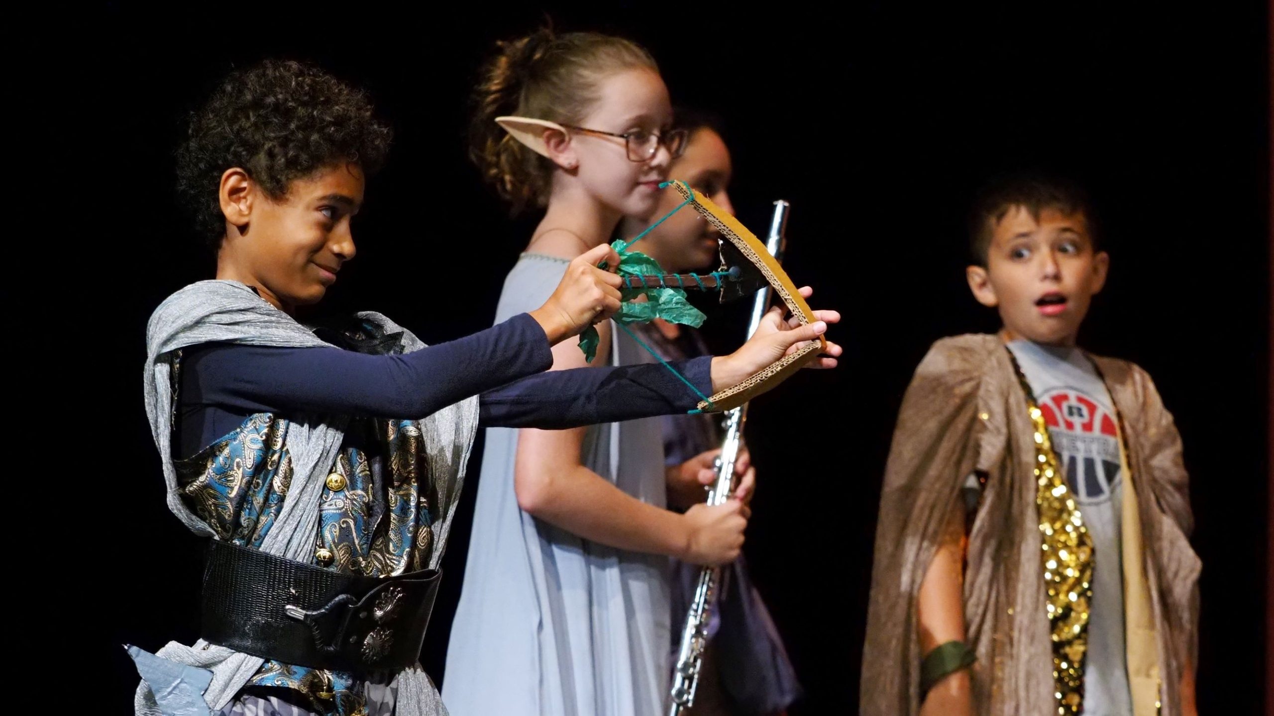 poly summer campers performing arts stage performance