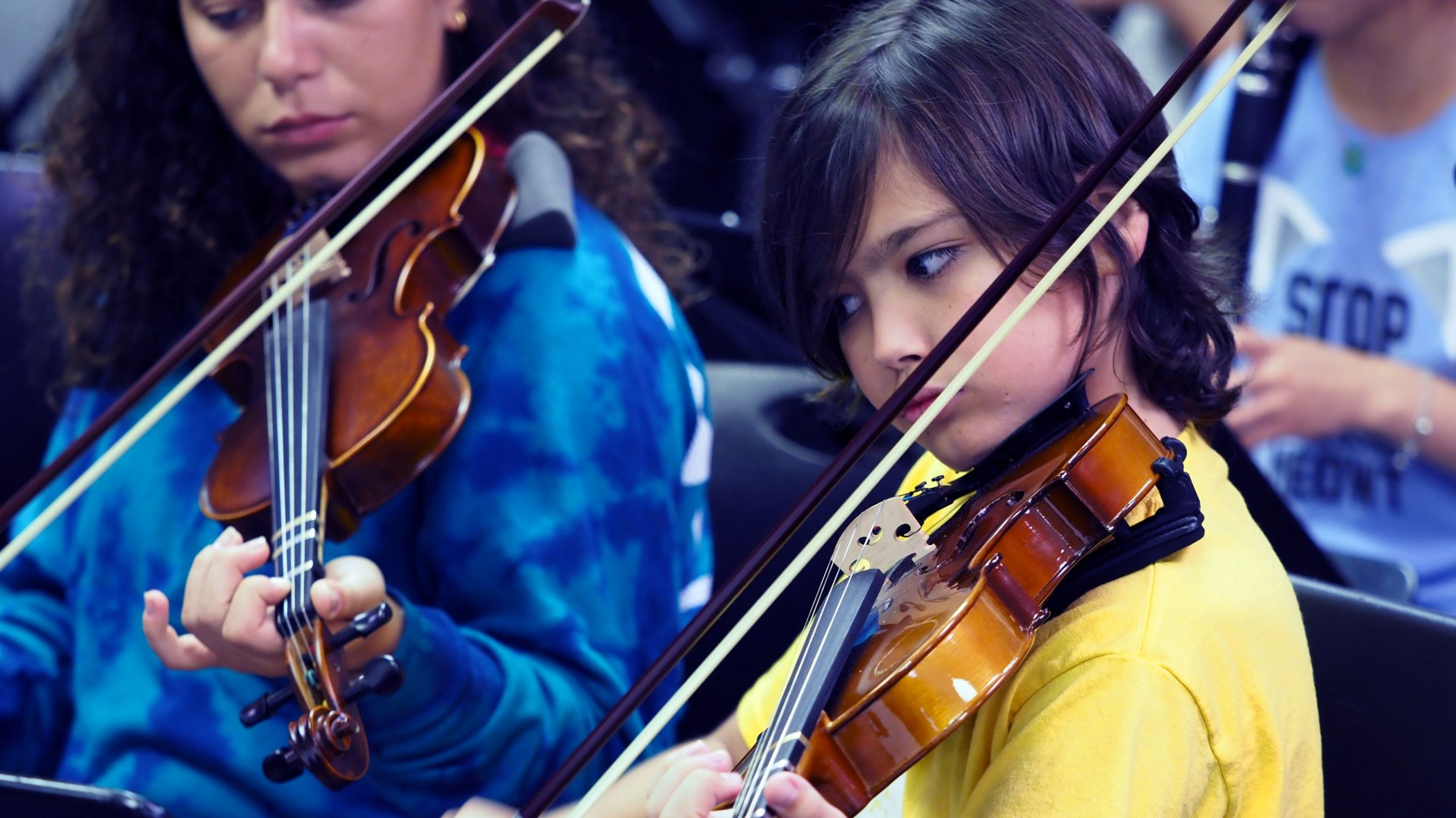 poly summer campers performing arts orchestra