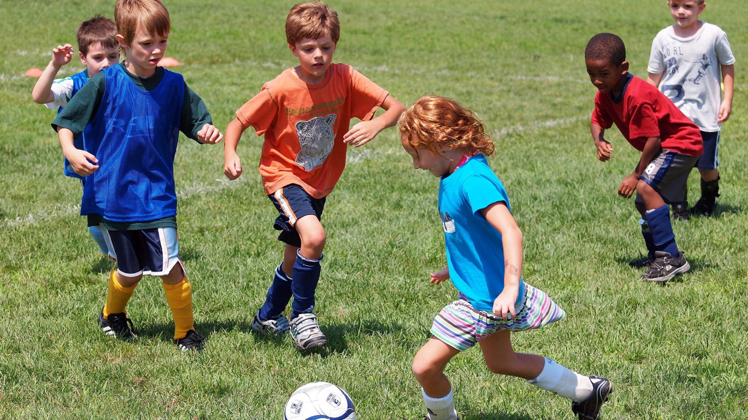poly summer camp soccer program
