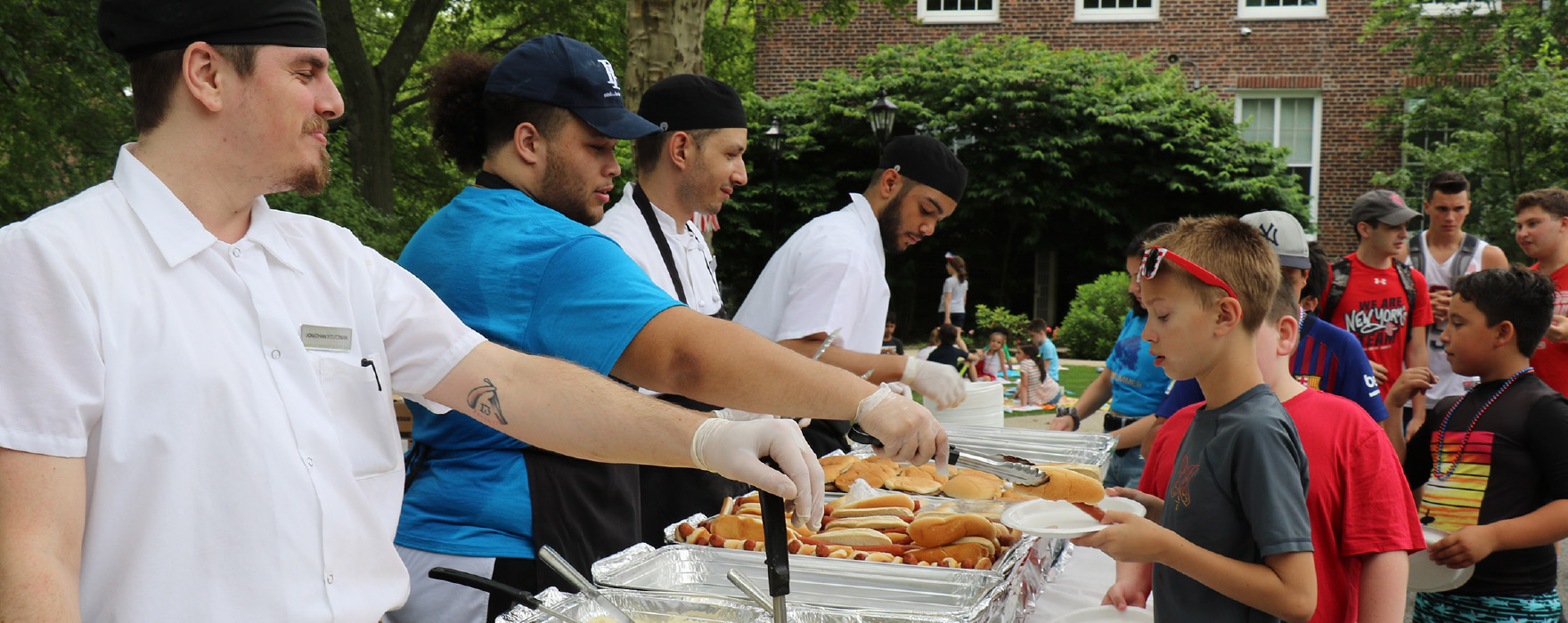 Poly Summer barbecue lunch